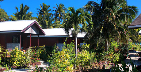 garden bungalow at aitutaki village